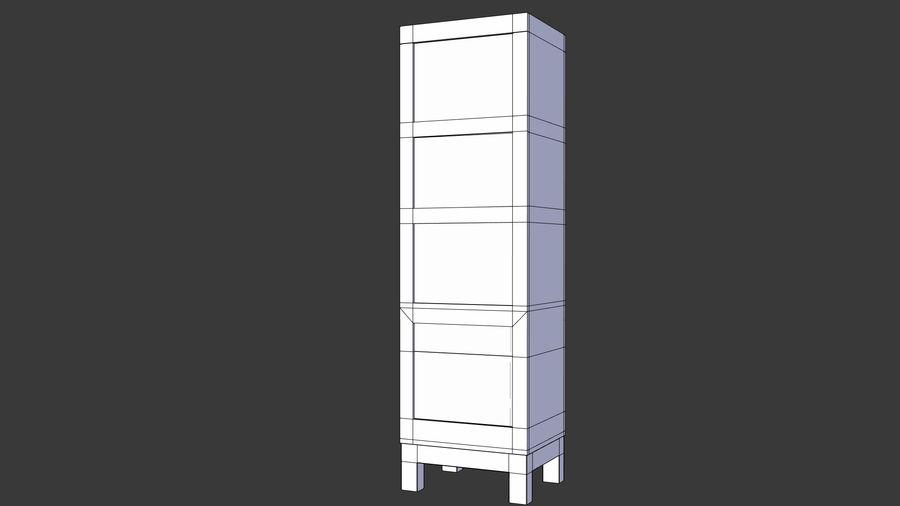 사무실 옷장 내각 royalty-free 3d model - Preview no. 8