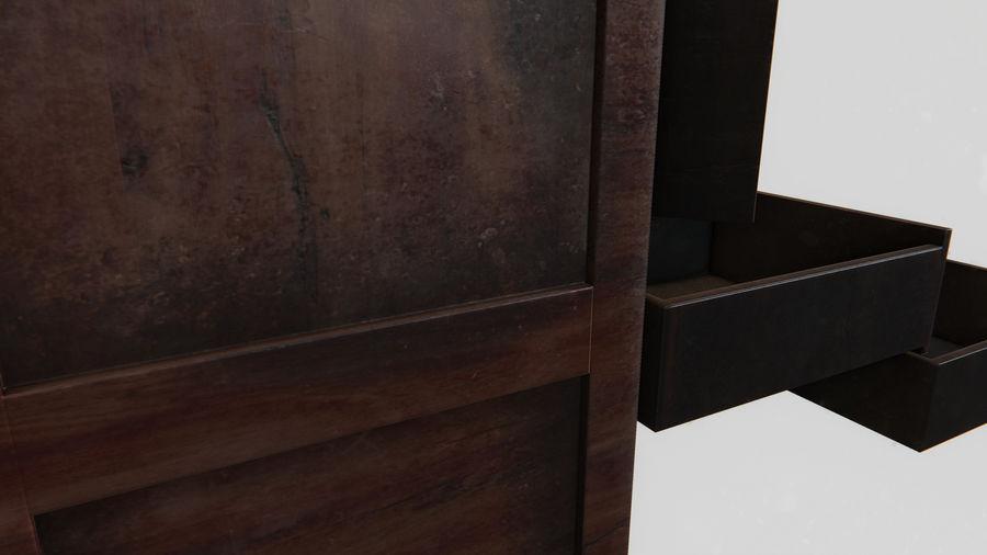사무실 옷장 내각 royalty-free 3d model - Preview no. 14