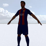 Lionel Messi 3d model