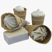 Ice Creams 3d model