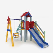 Детская площадка 3d model