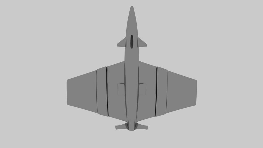 drone future royalty-free 3d model - Preview no. 8
