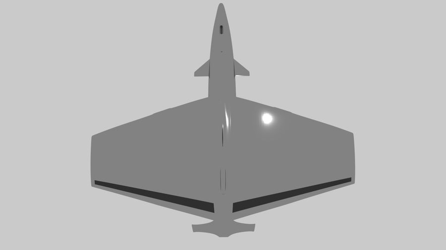 drone future royalty-free 3d model - Preview no. 7