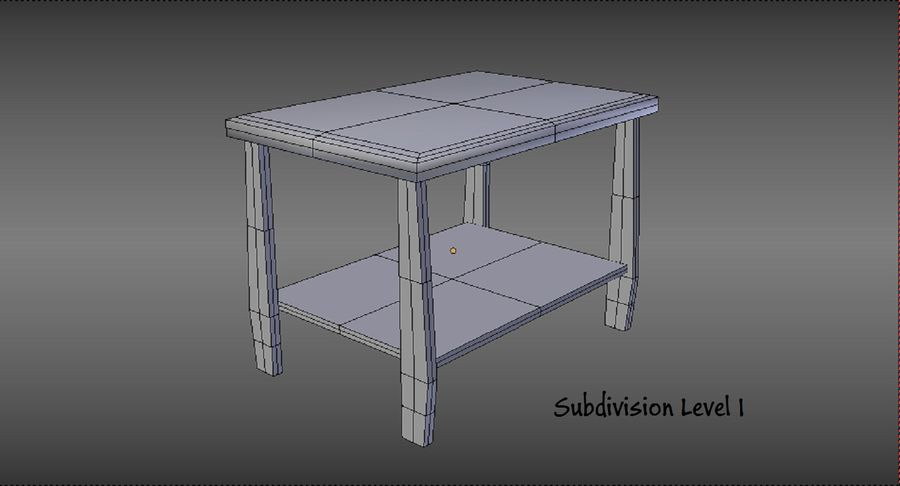 Centre de table royalty-free 3d model - Preview no. 13