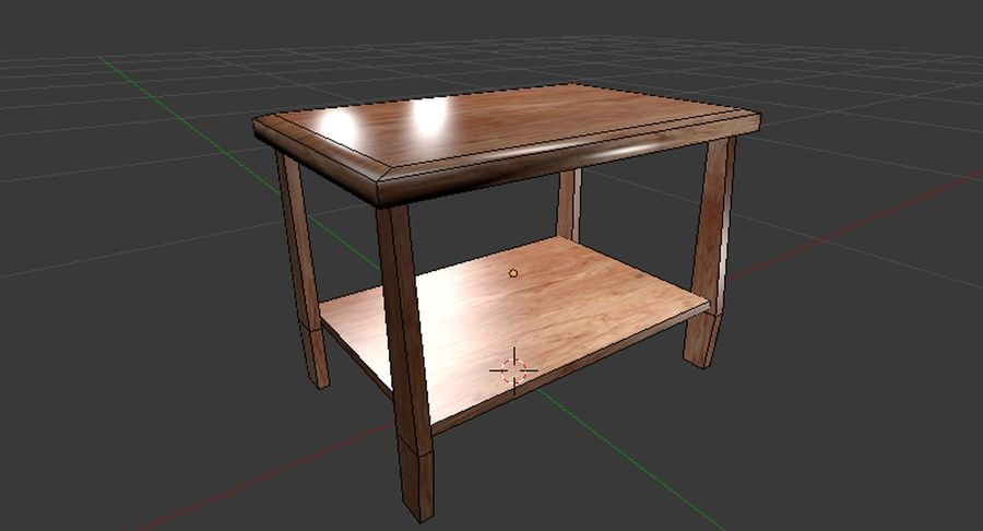 Centre de table royalty-free 3d model - Preview no. 4