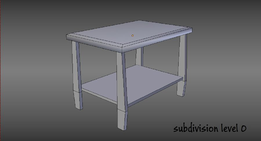 Centre de table royalty-free 3d model - Preview no. 12