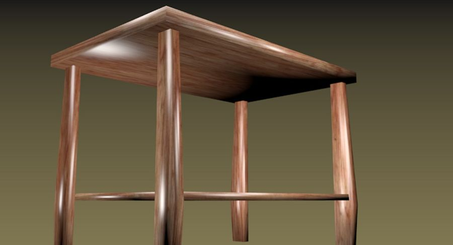 Centre de table royalty-free 3d model - Preview no. 6