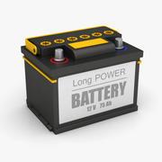 Bateria Automática 3d model