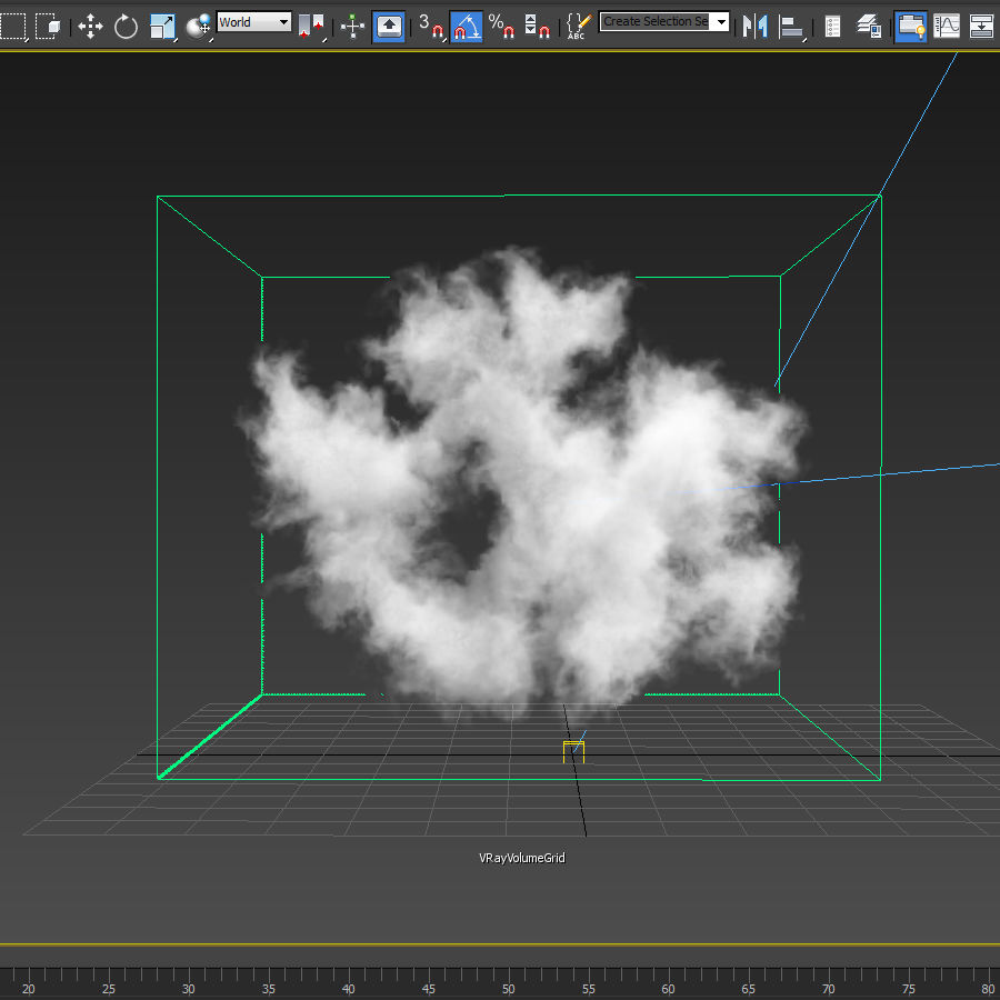 3D Clouds - 3 PACK - vol2 royalty-free 3d model - Preview no. 9