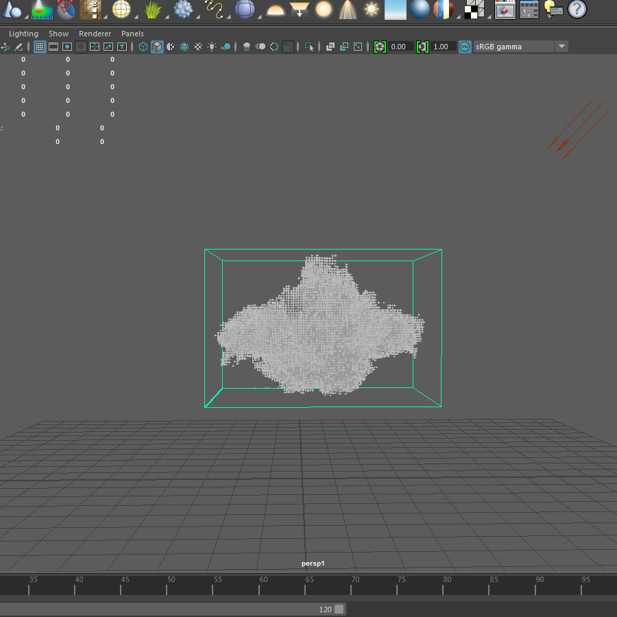 3D Clouds - 3 PACK - vol2 royalty-free 3d model - Preview no. 7
