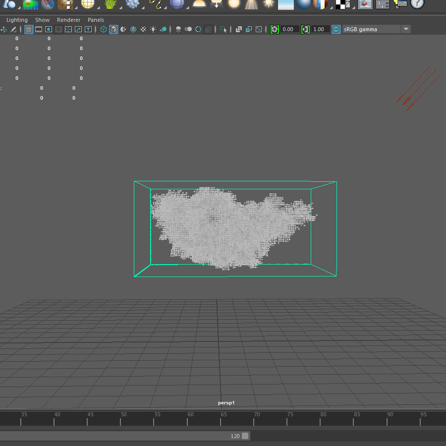 3D Clouds - 3 PACK - vol3 royalty-free 3d model - Preview no. 4