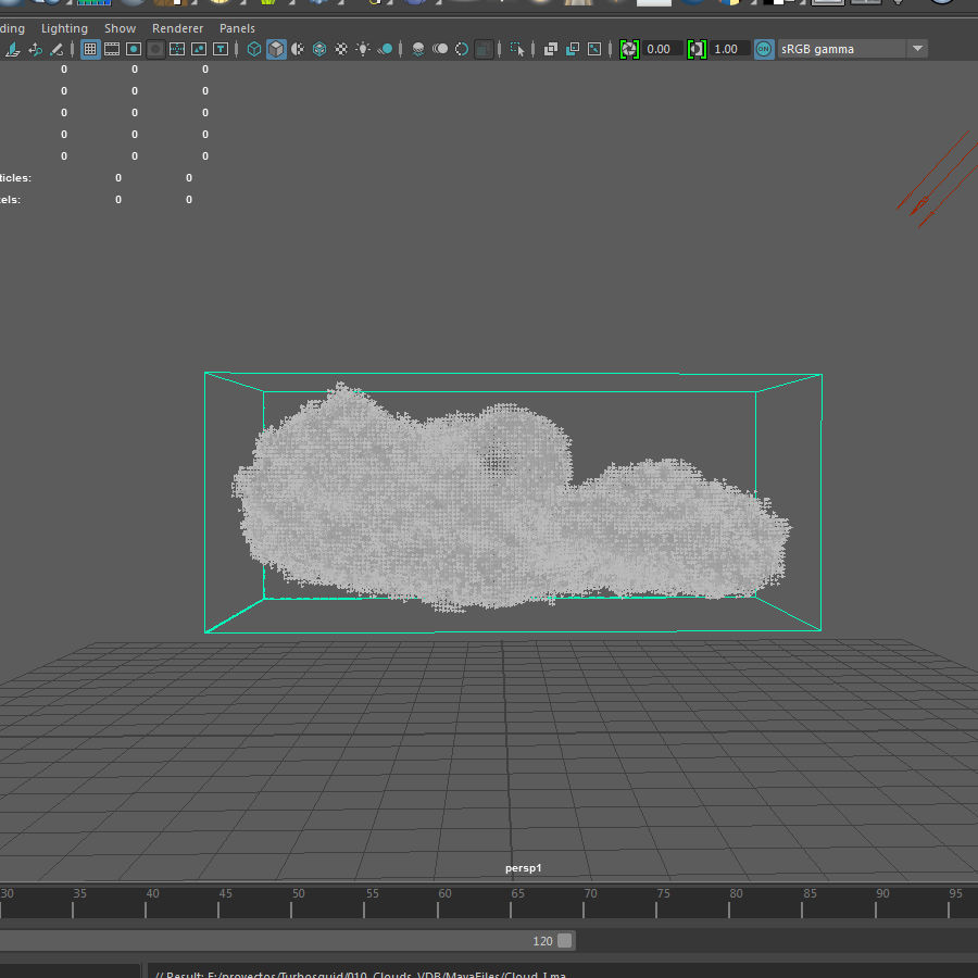 3D Clouds - 3 PACK - vol3 royalty-free 3d model - Preview no. 7