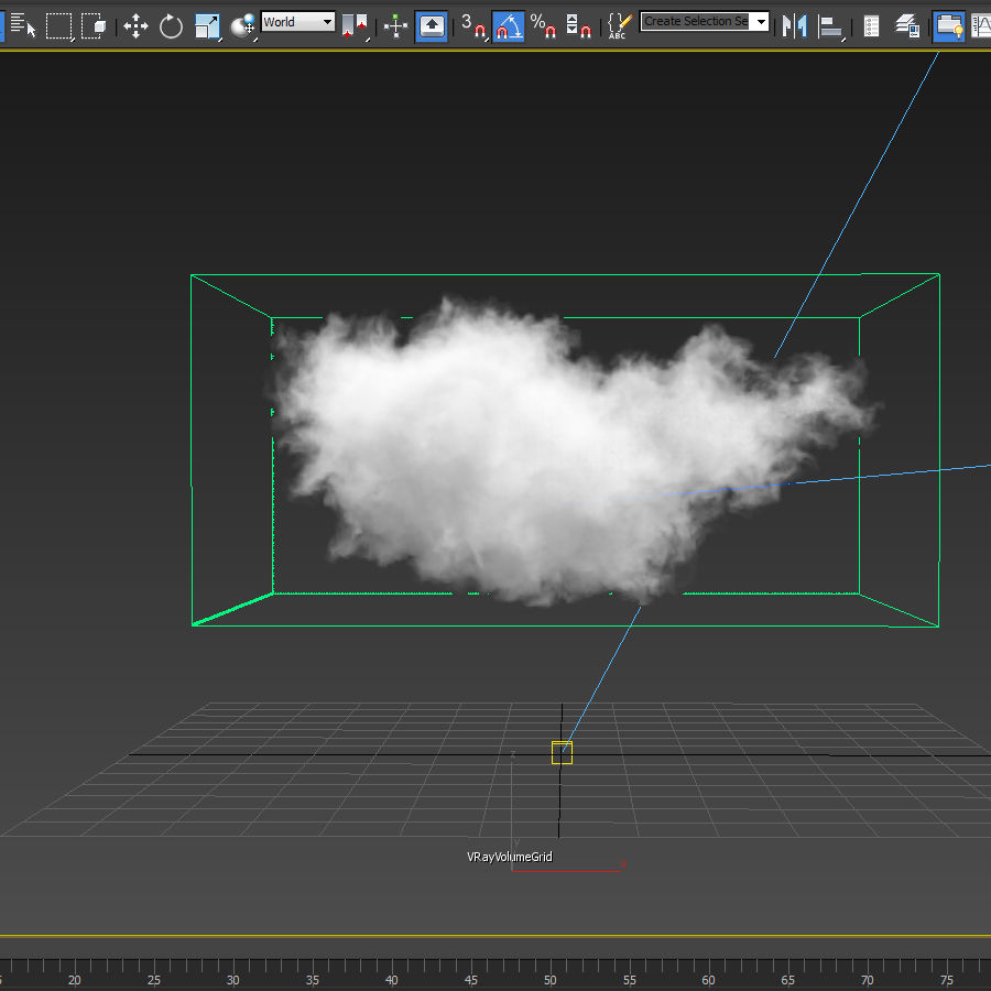 3D Clouds - 3 PACK - vol3 royalty-free 3d model - Preview no. 3