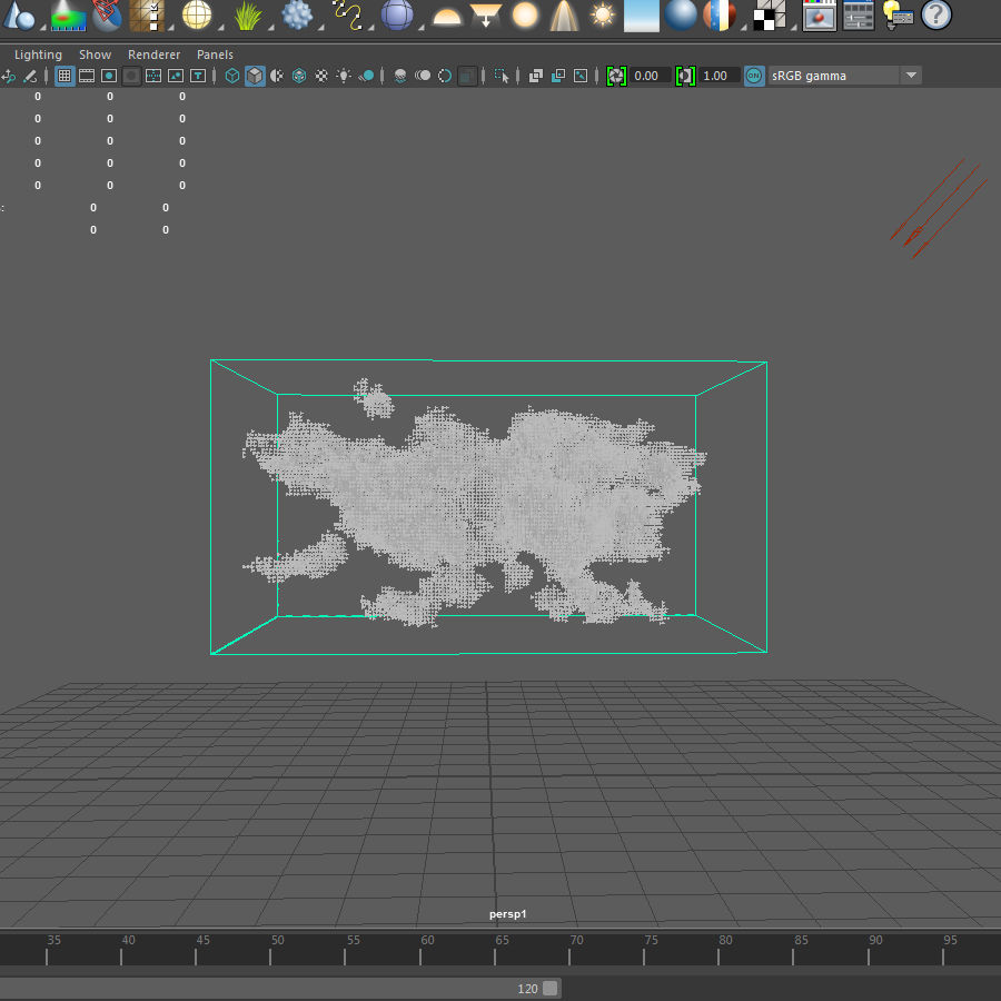 3D Clouds - 3 PACK - vol3 royalty-free 3d model - Preview no. 10