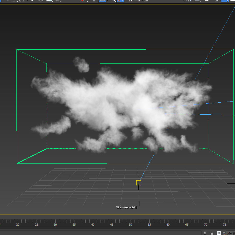 3D Clouds - 3 PACK - vol3 royalty-free 3d model - Preview no. 9