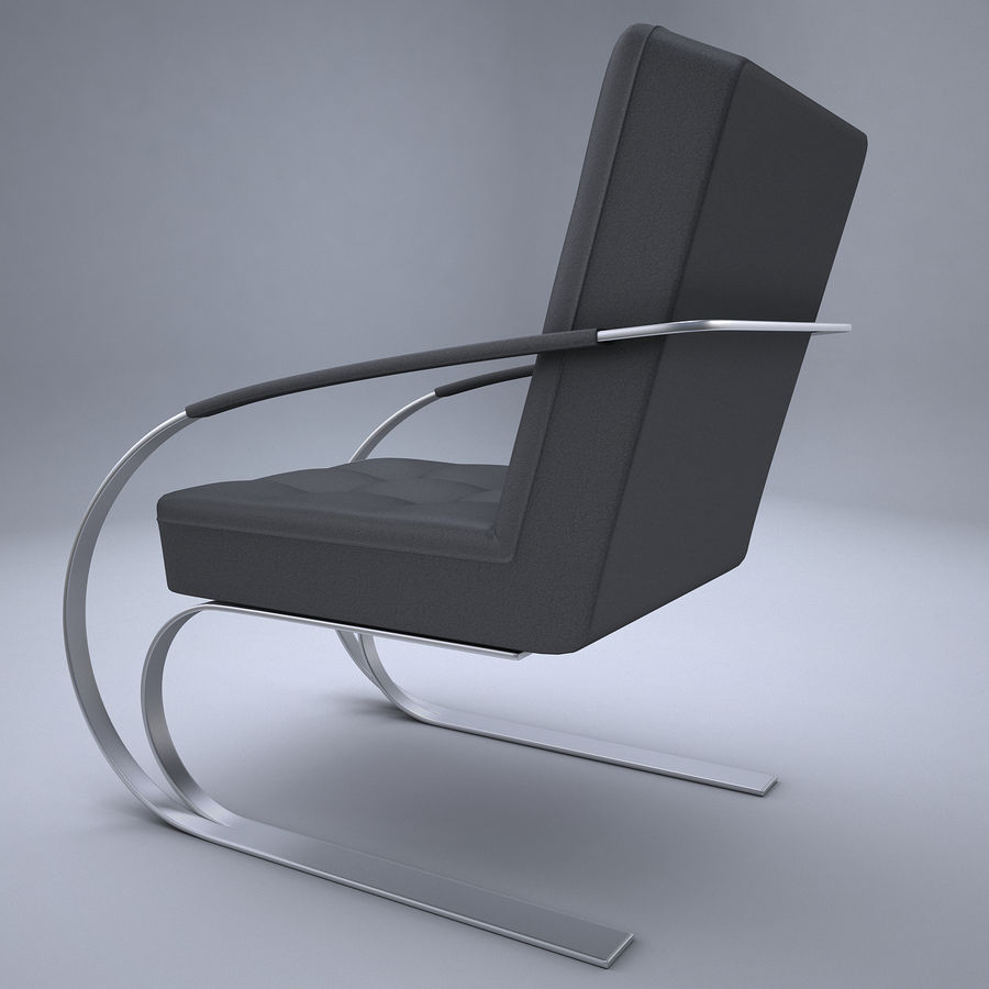 Design armchair one royalty-free 3d model - Preview no. 7