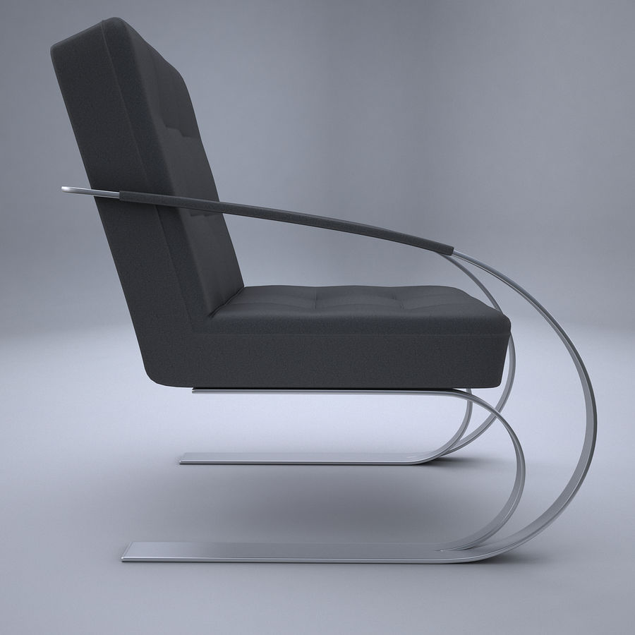 Design armchair one royalty-free 3d model - Preview no. 5