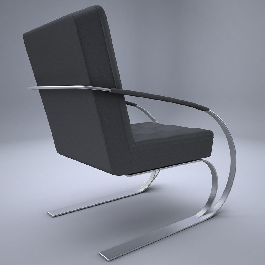 Design armchair one royalty-free 3d model - Preview no. 6
