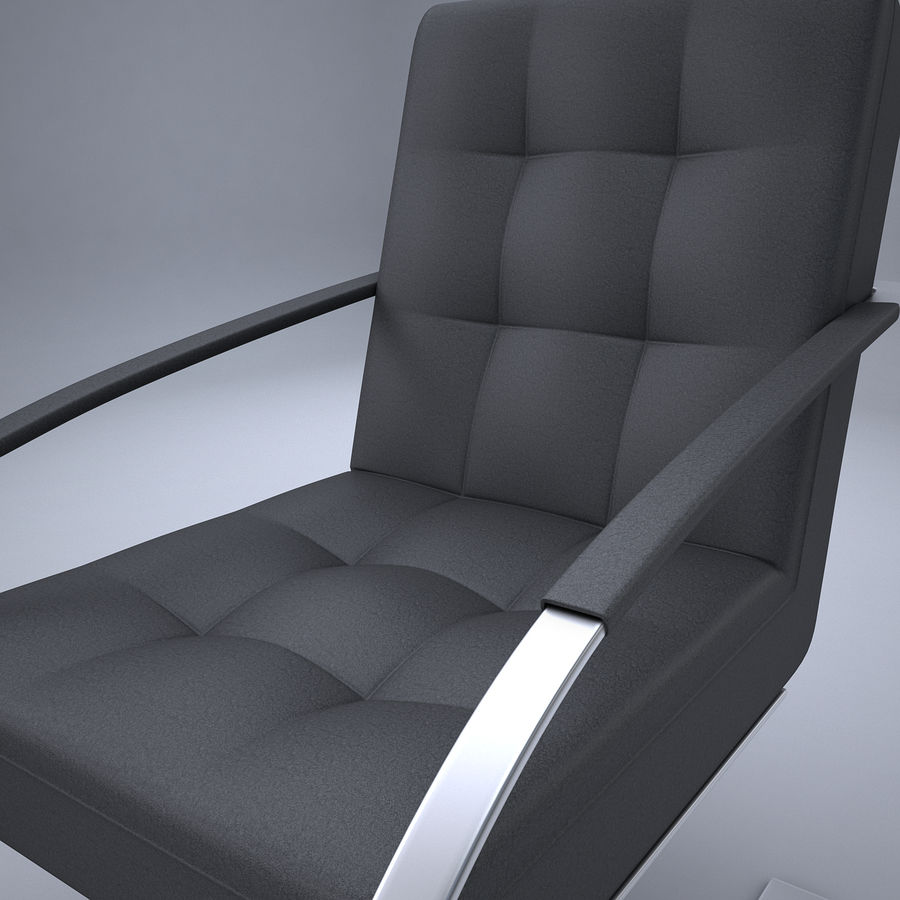 Design armchair one royalty-free 3d model - Preview no. 8
