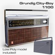 Grundig City-Boy 1100 3d model