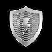 Shield Of Cybersecurity 3d model