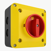 Enclosed Disconnect Switch 01 3d model