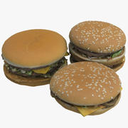 Hamburgers 3d model
