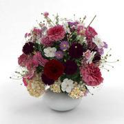 Çiçek buketi 3d model