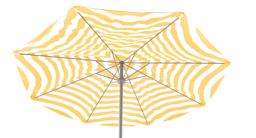 Lawrence Hill Market Umbrella royalty-free 3d model - Preview no. 3