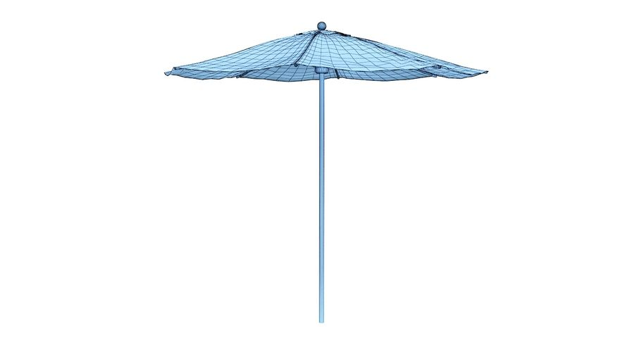 Lawrence Hill Market Umbrella royalty-free 3d model - Preview no. 4