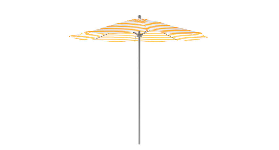 Lawrence Hill Market Umbrella royalty-free 3d model - Preview no. 1