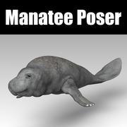 Manatee Poser 3d model