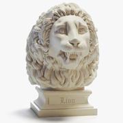 Lion Head Peaceful Printable 3d model