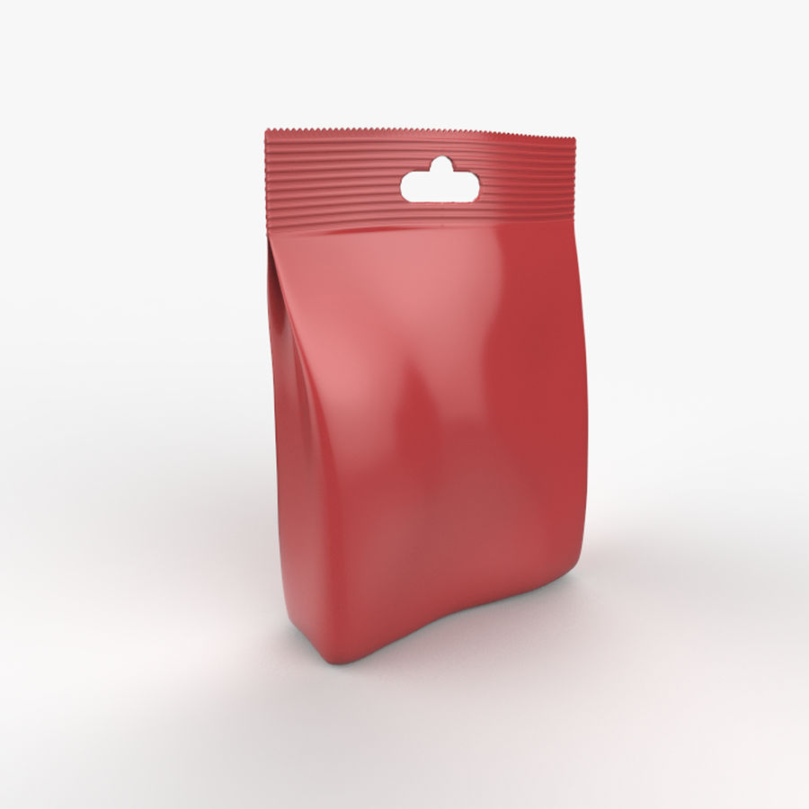 Food packaging v. 4 royalty-free 3d model - Preview no. 4