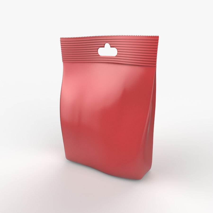 Food packaging v. 4 royalty-free 3d model - Preview no. 2
