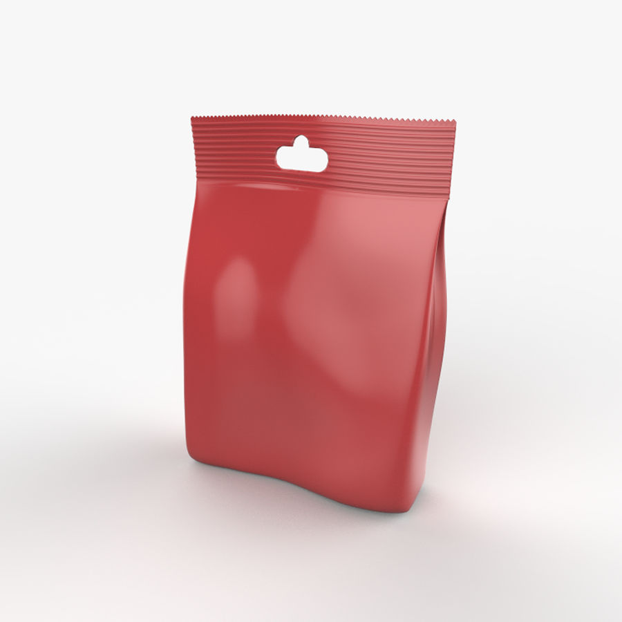 Food packaging v. 4 royalty-free 3d model - Preview no. 5