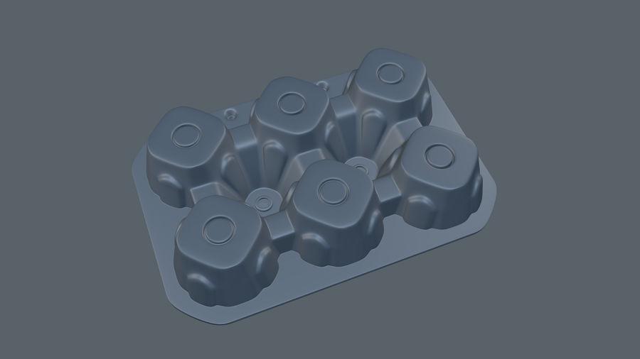 Egg Box royalty-free 3d model - Preview no. 6
