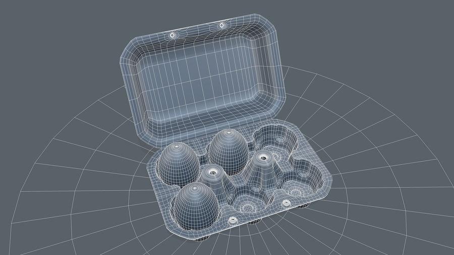 Egg Box royalty-free 3d model - Preview no. 10