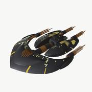 马丁的太空飞船 3d model