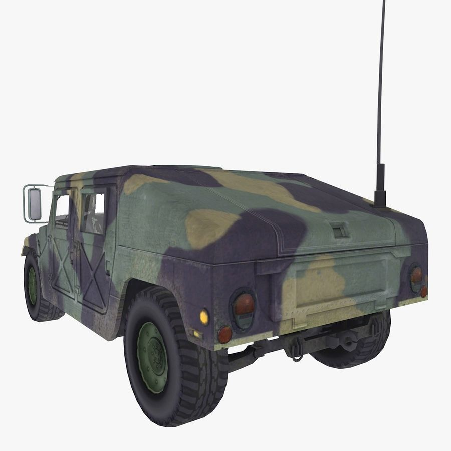 Military Vehicle royalty-free 3d model - Preview no. 4