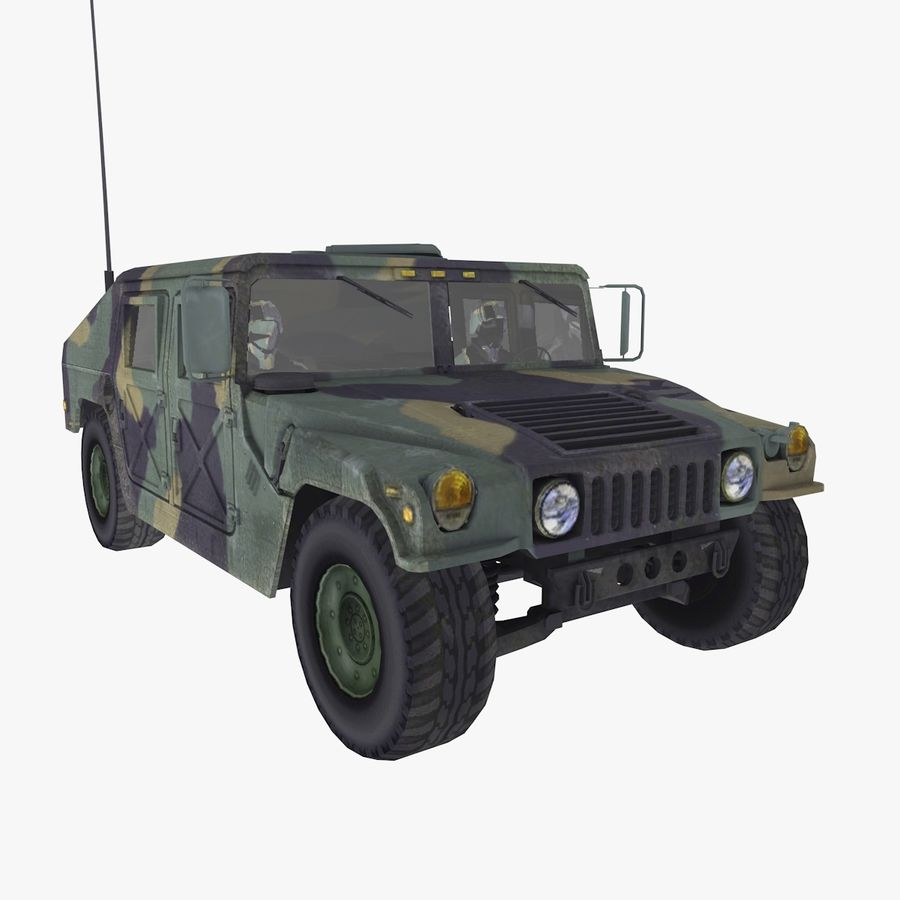 Military Vehicle royalty-free 3d model - Preview no. 1