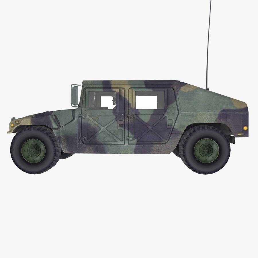 Military Vehicle royalty-free 3d model - Preview no. 3