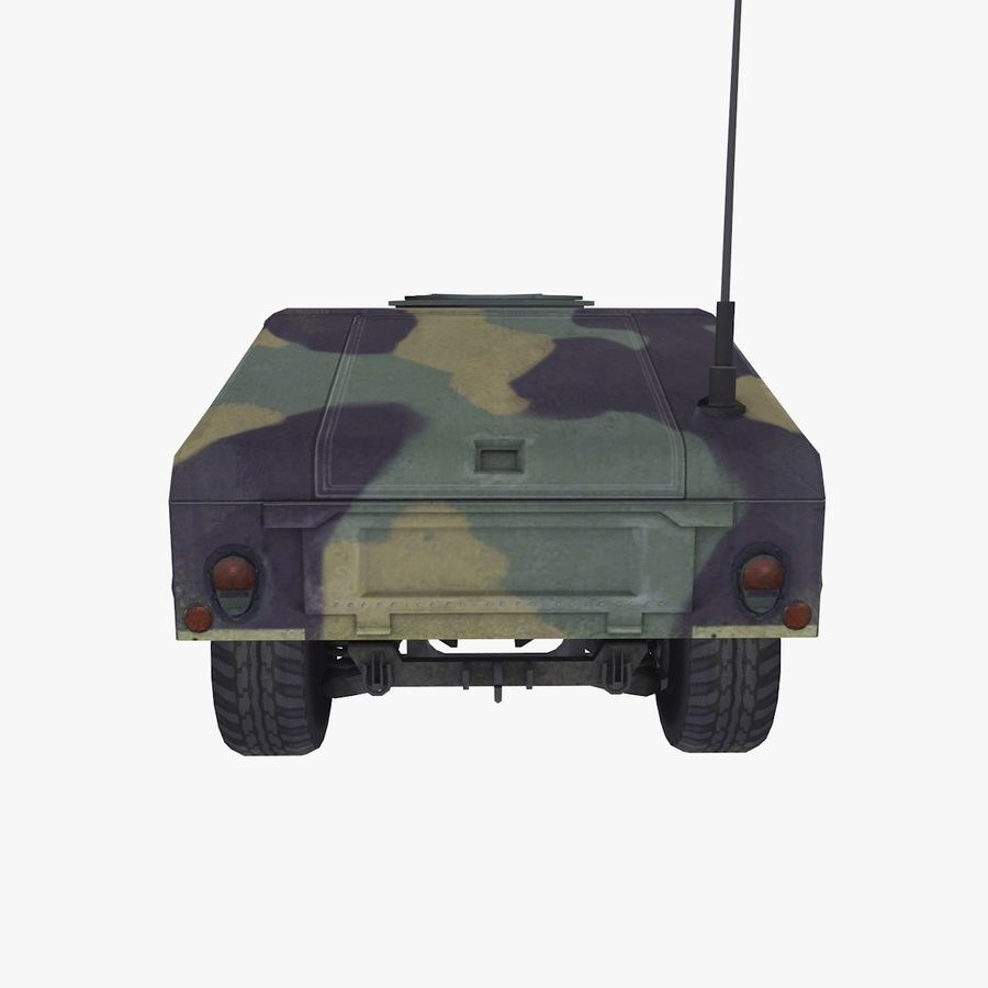 Military Vehicle royalty-free 3d model - Preview no. 6