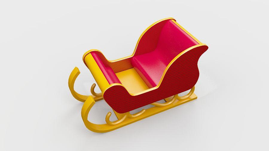 そり車 royalty-free 3d model - Preview no. 7