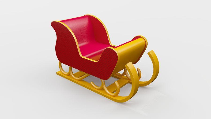 そり車 royalty-free 3d model - Preview no. 5
