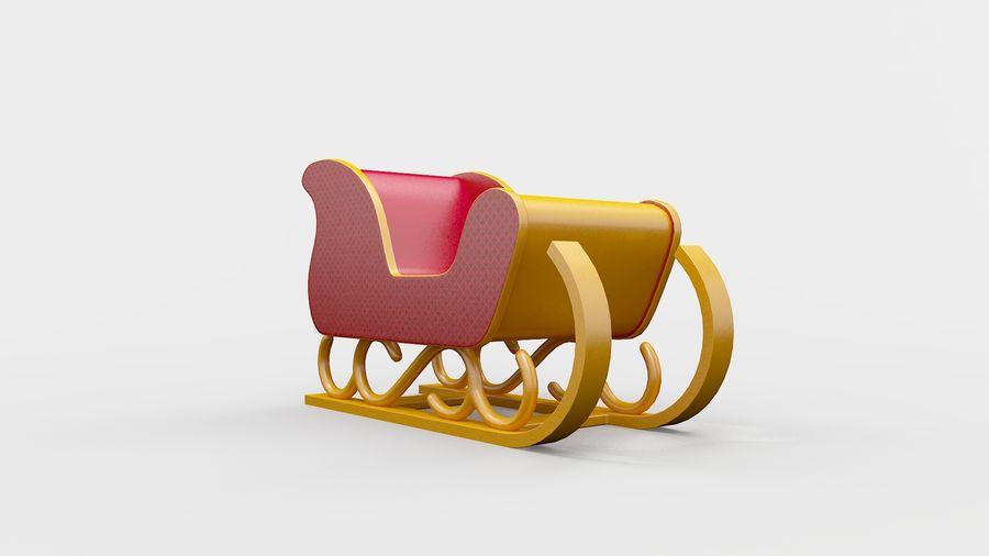 そり車 royalty-free 3d model - Preview no. 3