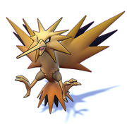 Zapdos Pokemon 3d model
