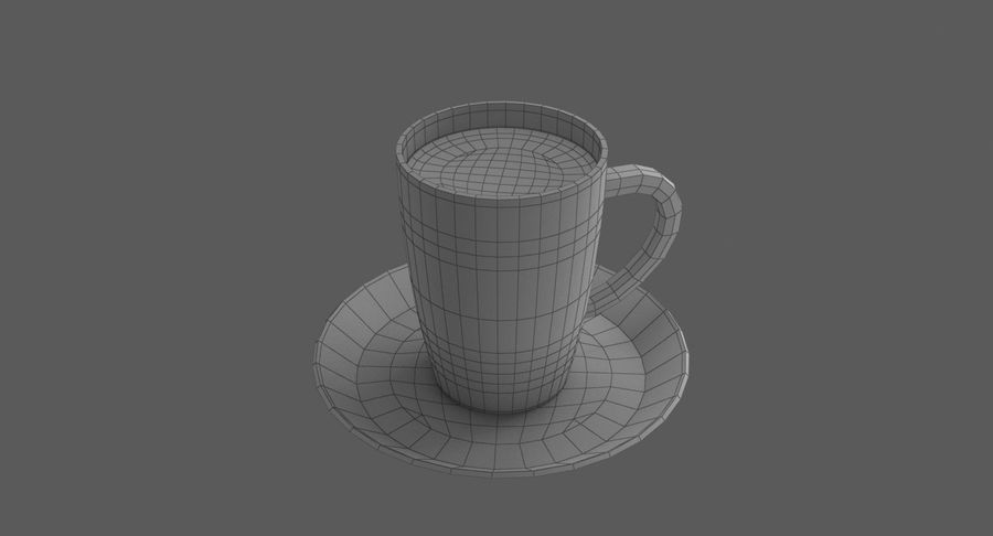 Coffee Cup royalty-free 3d model - Preview no. 11