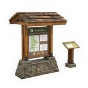 Information Boards 1 3d model