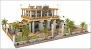 Bahamas Bank 3d model